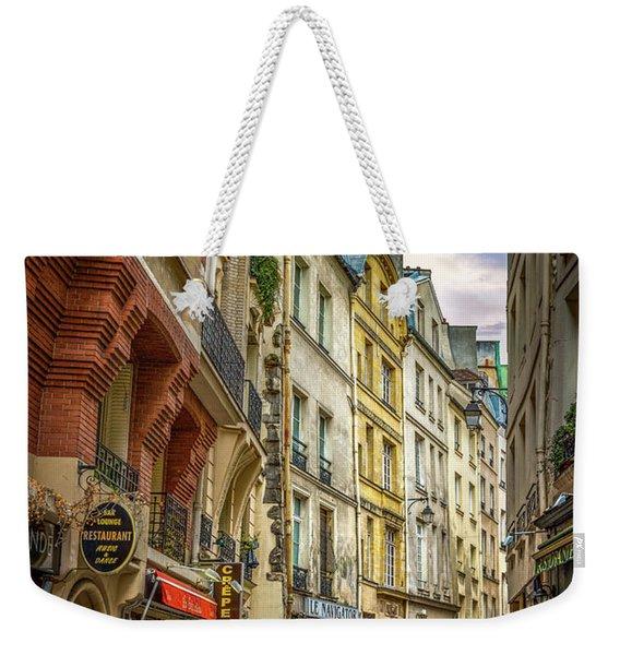 Empty Streets Of Paris Weekender Tote Bag