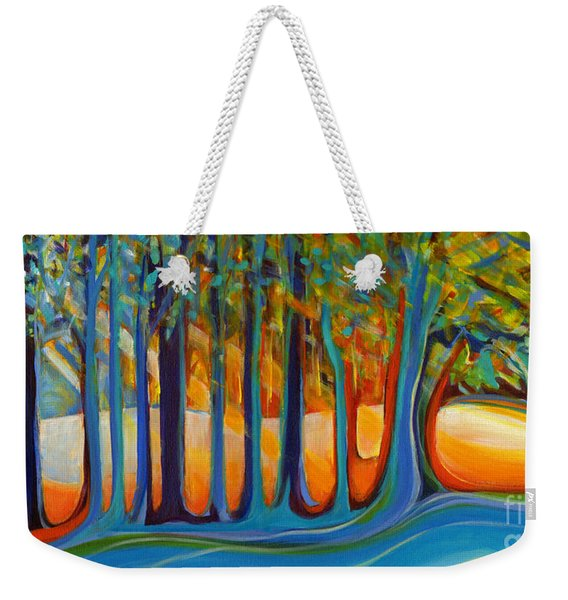 Enchanted Forest Fairy Tales Weekender Tote Bag