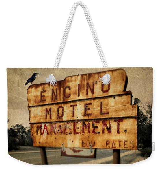 Encino Hotel Weekender Tote Bag