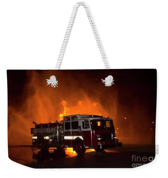 Engine 2 Weekender Tote Bag
