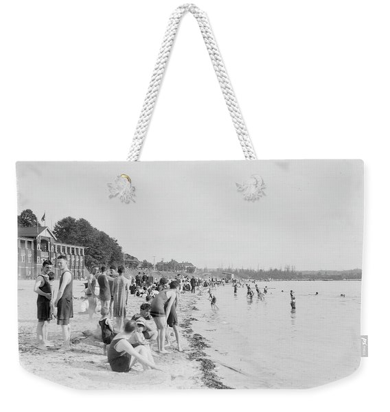 English Bay Beach And A View East 1920 Weekender Tote Bag