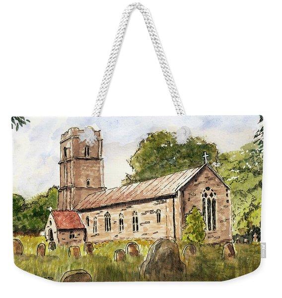 English Chapel Weekender Tote Bag