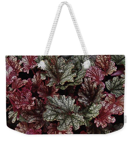 Engraved Foliage   Weekender Tote Bag