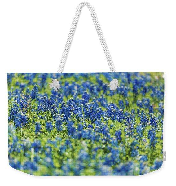 Ennis Bluebonnets Weekender Tote Bag