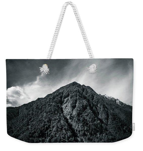 Entering The Dark Depth Weekender Tote Bag