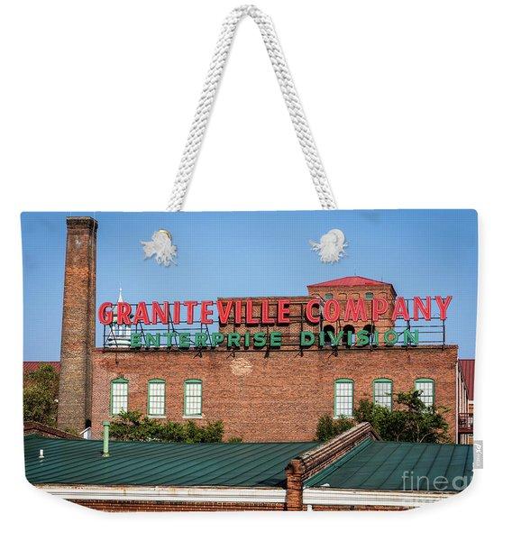 Enterprise Mill - Graniteville Company - Augusta Ga 2 Weekender Tote Bag
