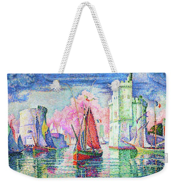 Entrance To The Port Of La Rochelle - Digital Remastered Edition Weekender Tote Bag