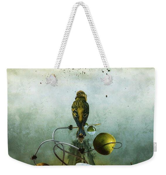 Ephemeral Architecture Weekender Tote Bag