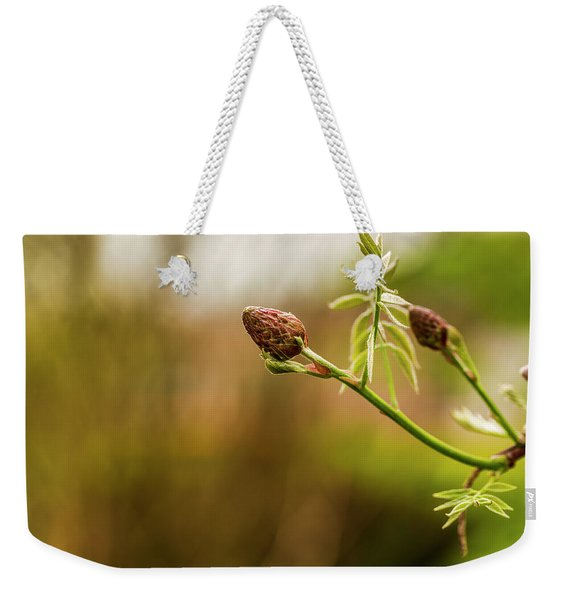Essence Of New Life Weekender Tote Bag