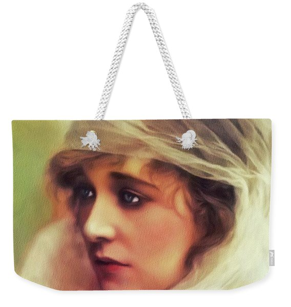 Ethel Clayton, Vintage Actress Weekender Tote Bag