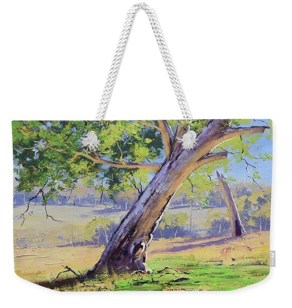 Eucalyptus Tree Australia Weekender Tote Bag