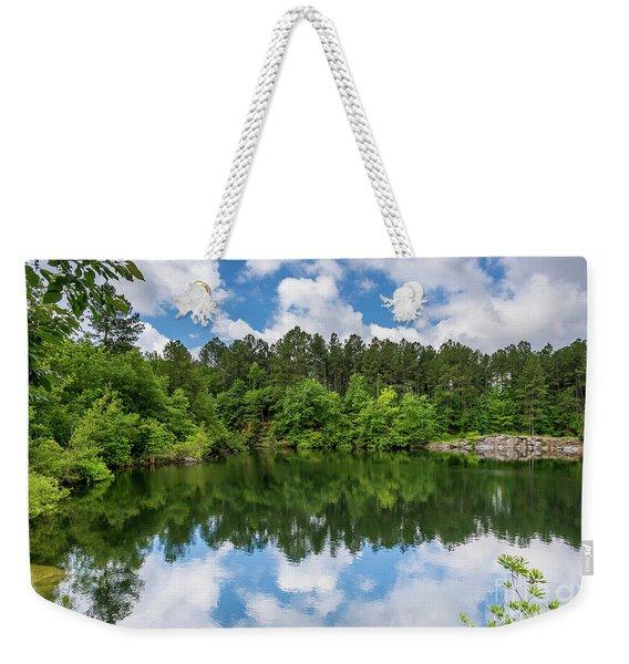 Euchee Creek Park - Grovetown Trails Near Augusta Ga 1 Weekender Tote Bag