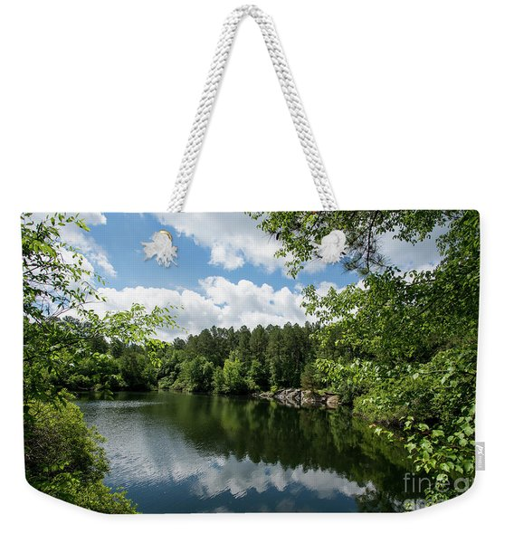 Euchee Creek Park - Grovetown Trails Near Augusta Ga 2 Weekender Tote Bag