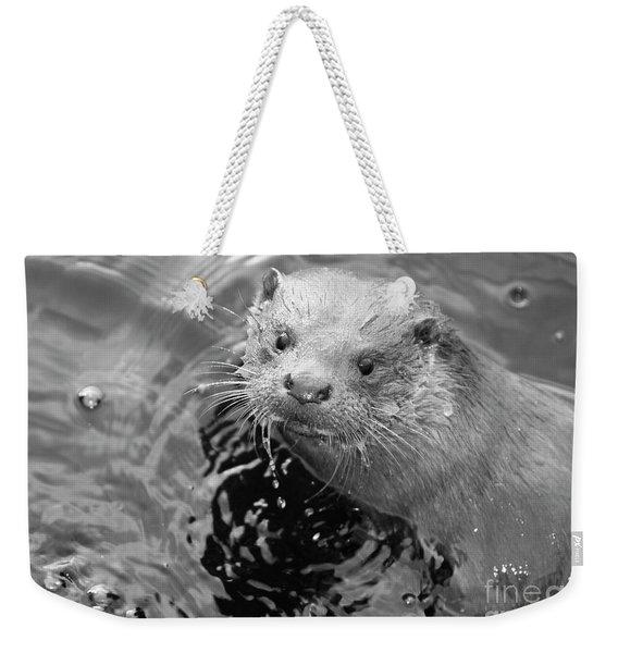 European Otter Weekender Tote Bag