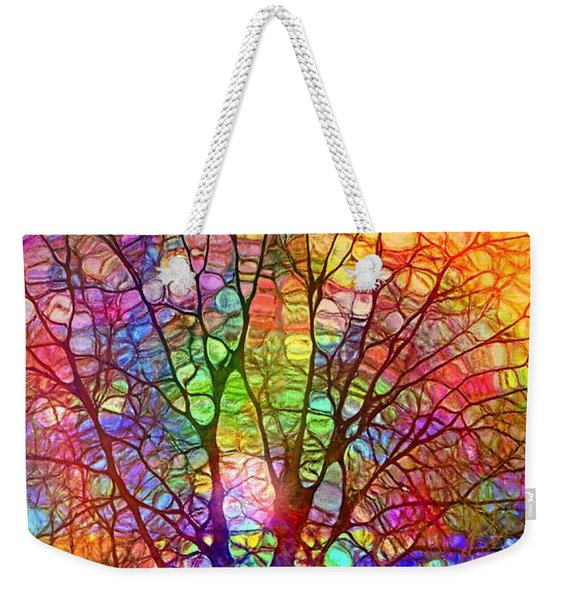 Even The Tree Is Glass On The Inside Weekender Tote Bag