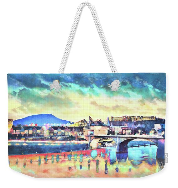 Evening Glow After The Storm Weekender Tote Bag