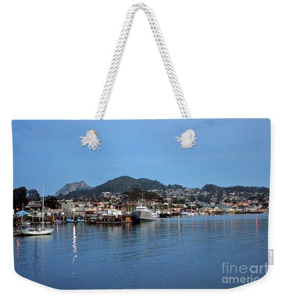 Evening In Morro Bay Weekender Tote Bag