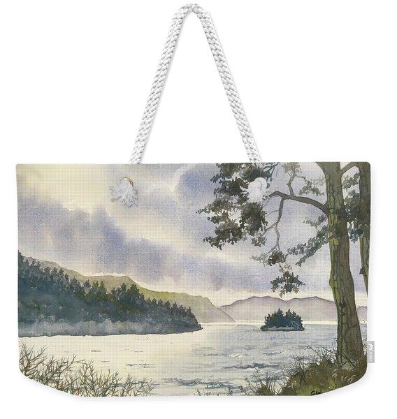 Evening On Derwentwater Weekender Tote Bag