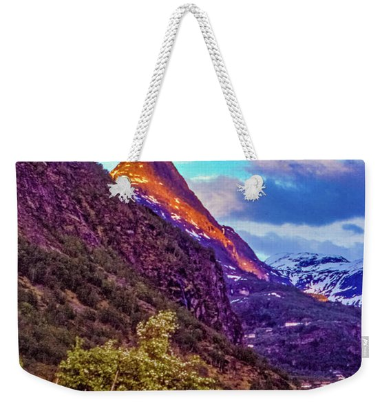 Evening On The Fjord  Weekender Tote Bag