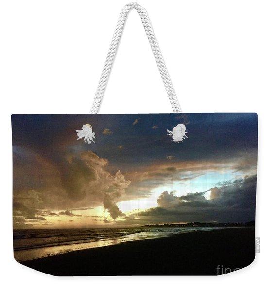 Evening Sky Weekender Tote Bag