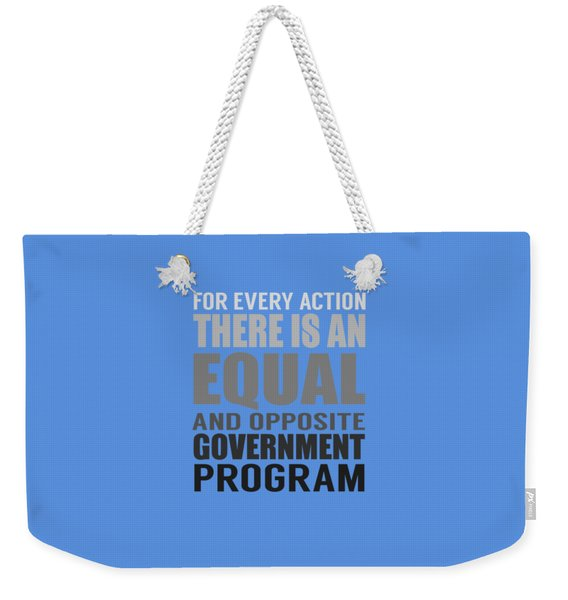 Every Action Weekender Tote Bag