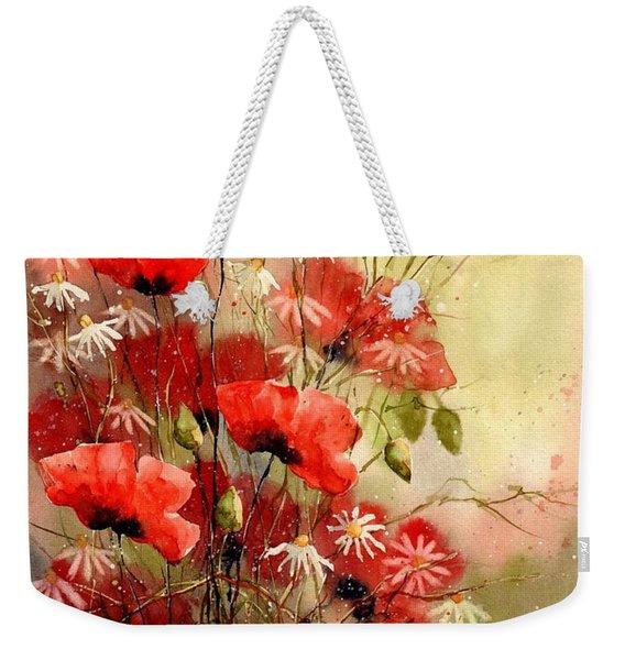 Everything About Poppies IIi Weekender Tote Bag