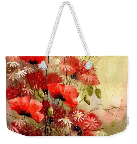 Everything About Poppies IIi Weekender Tote Bag