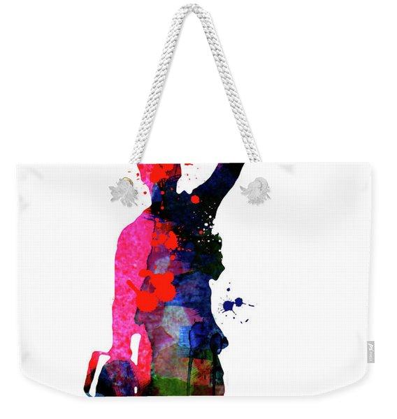 Evil Dead Watercolor Weekender Tote Bag
