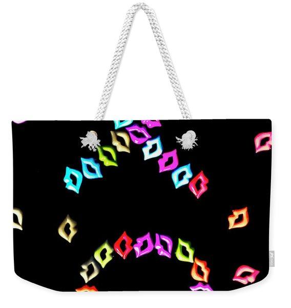 Ex Oh Weekender Tote Bag