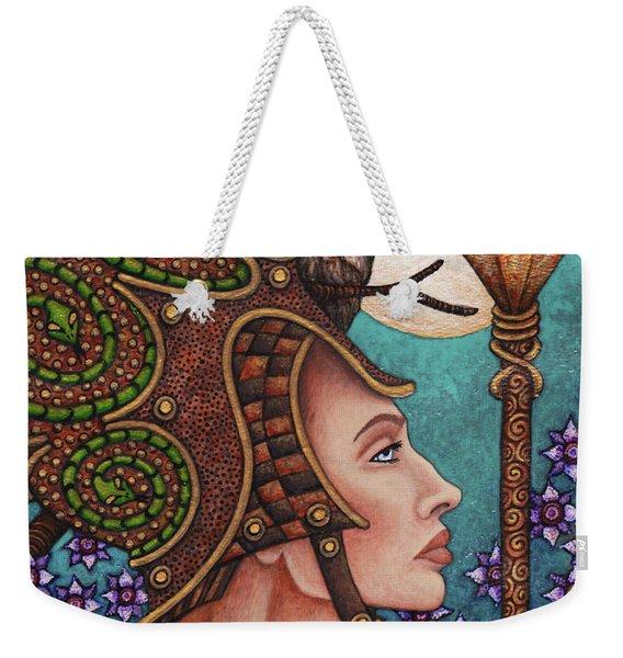 Exalted Beauty Athena Weekender Tote Bag