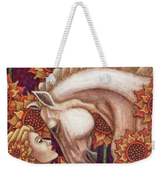 Exalted Beauty Morgan Weekender Tote Bag