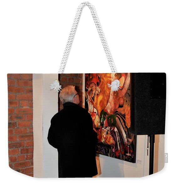 Exhibition - 08 Weekender Tote Bag