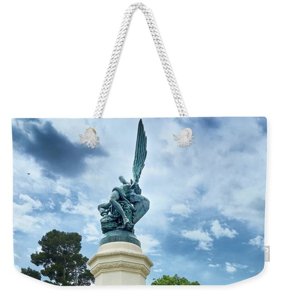Exiled From Paradise, The Fallen Angel Weekender Tote Bag