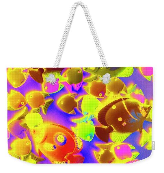 Exotic Tropics Weekender Tote Bag