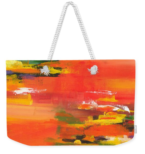 Exploring Evening Weekender Tote Bag