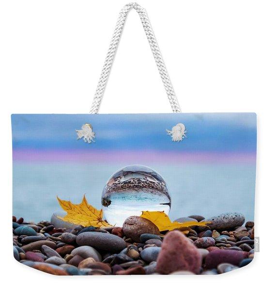 Eye Of The Calm Weekender Tote Bag