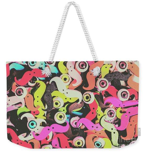 Eyes And Moes Weekender Tote Bag