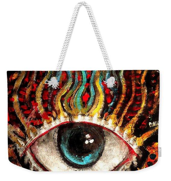 Eyes On You Weekender Tote Bag