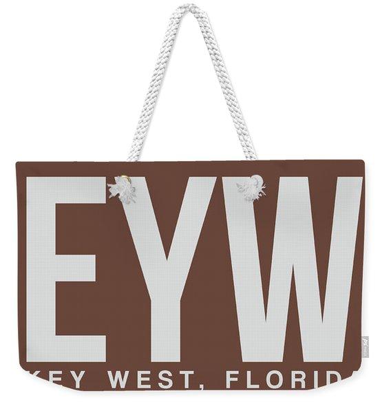 Eyw Key West Luggage Tag II Weekender Tote Bag