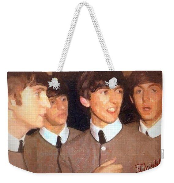 Fab Beatles Weekender Tote Bag