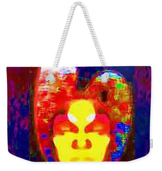 Face On Mars Weekender Tote Bag