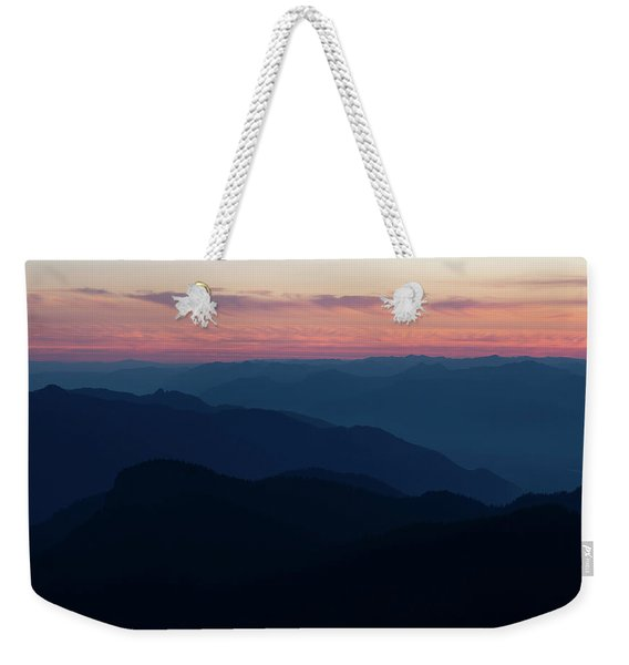 Fading Into The Night Weekender Tote Bag