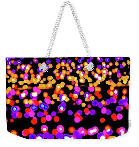 Fairy Lights 2 Weekender Tote Bag