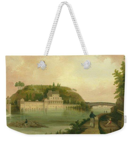Fairmount Waterworks About 1838 Weekender Tote Bag