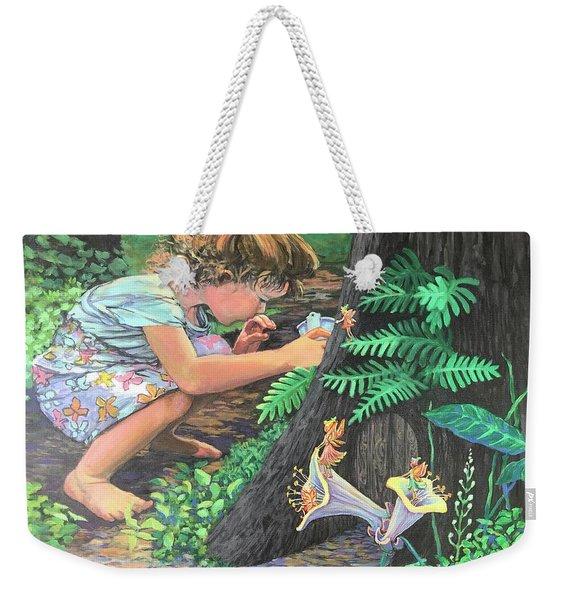 Fairy World Weekender Tote Bag