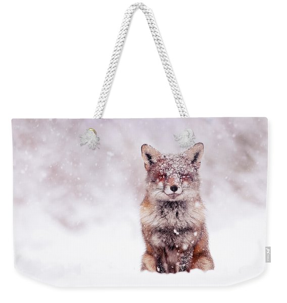Fairytale Fox Series - Happy Fox Weekender Tote Bag
