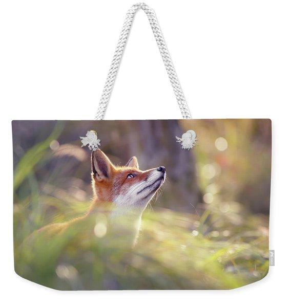 Fairytale Fox Series - Head Up High Weekender Tote Bag