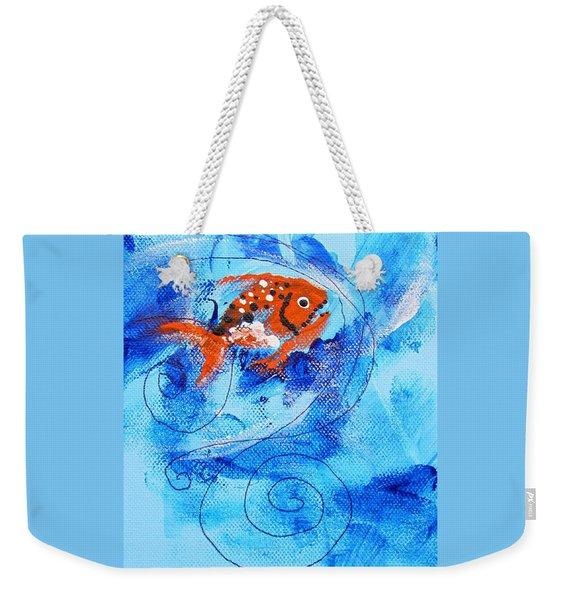 Fake Nemo Fish Weekender Tote Bag