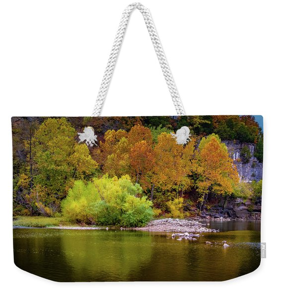 Fall Colors Of The Ozarks Weekender Tote Bag