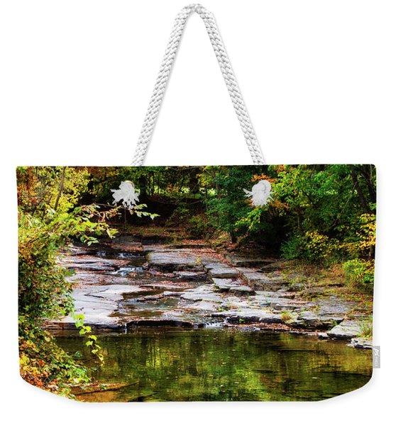 Fall Creek Weekender Tote Bag